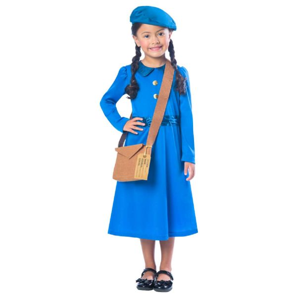 Evacuee Girl Blue